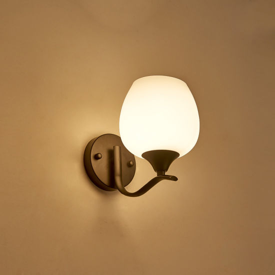 AMAZING QUALITY CLEAR AND FROSTED GLASS MODERN WALL LIGHT