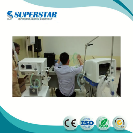 Online Shop China New Arrival Medical Devices ICU Ventilator S1100 with Air  Compressor Superstar Medical