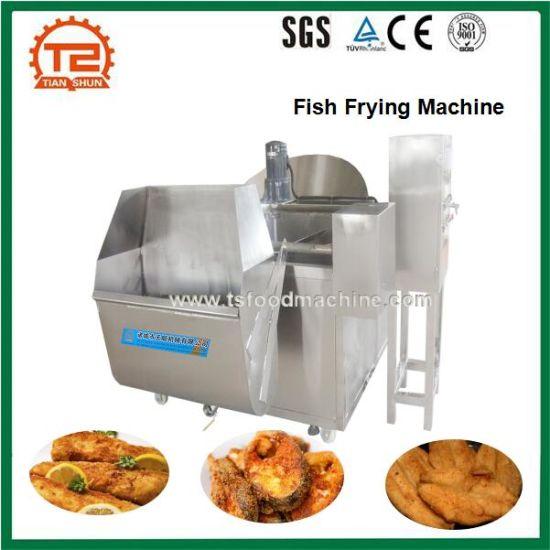 China Cod Salmon Herring Fish Frying Machine China Fryer