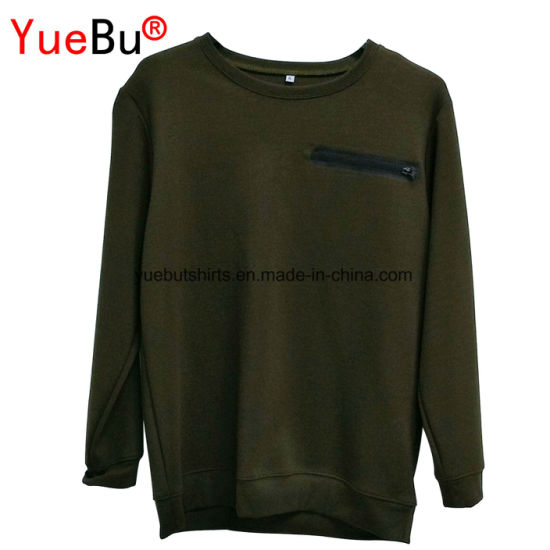 Custom Pullover Clothing Cotton/Polyester Hoody Printed Men′s Hoodie pictures & photos