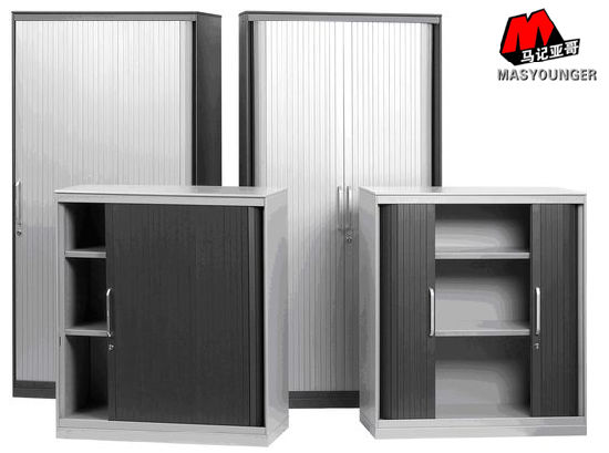 Popular Sale PVC Metal Sliding Door Storage Filing Cabinet & China Popular Sale PVC Metal Sliding Door Storage Filing Cabinet ...