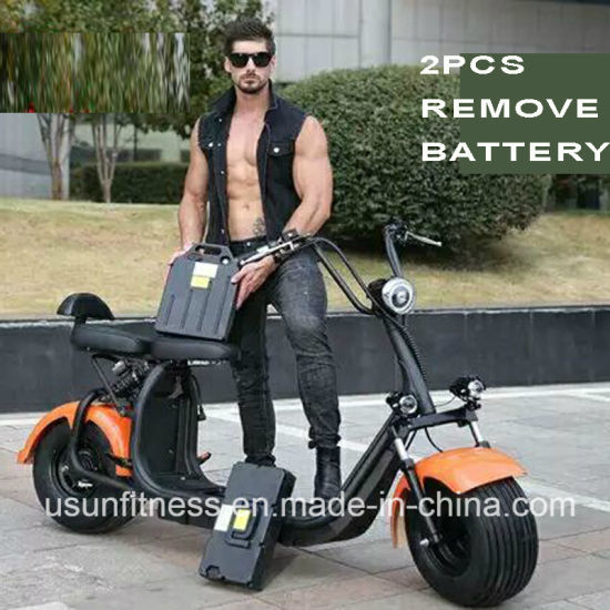 Good Price Powerful Green Electric Scooter with 01- 60V 2000watt Brushless Motor pictures & photos
