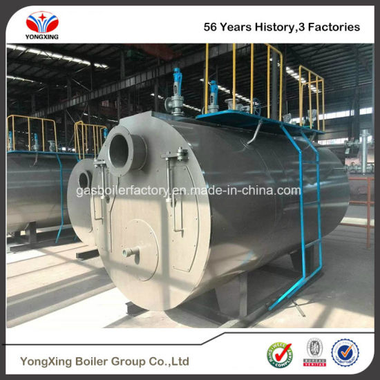 China 0.35MW-7MW Full Automatic Natural Gas Fired Hot Water Boiler ...