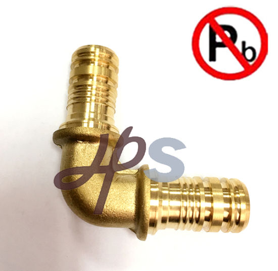 Low Lead Brass Pex Female Elbow Pipe Fitting pictures & photos