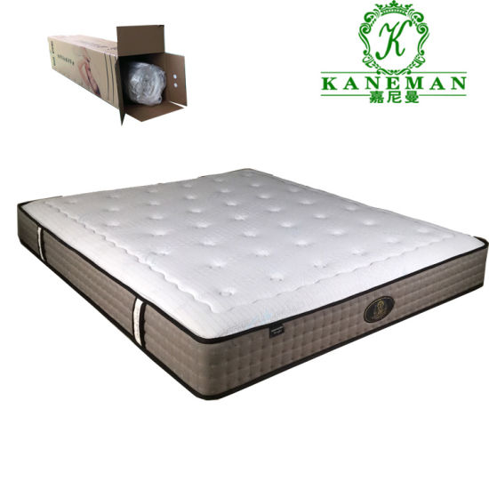 Pocket Coil Spring Mattress, Queen Size Bed In A Box