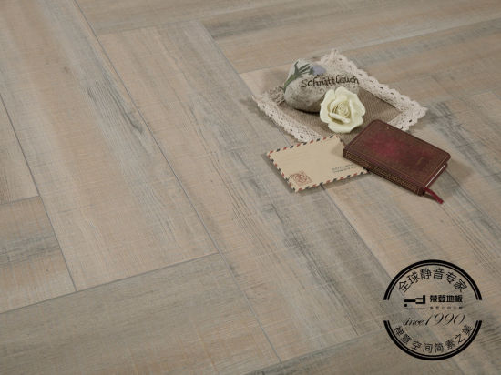 Pridon Herringbone Series Rz001 More Texture Laminate Flooring pictures & photos