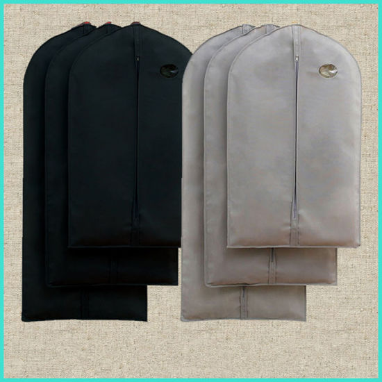 Wholesale Recycled Dustproof Non Woven Suit Cover Cheap Garment Packing Bags