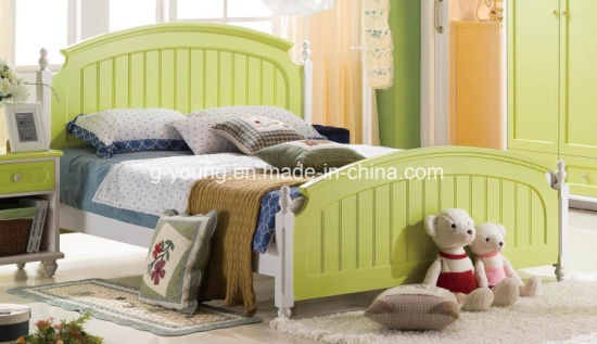 Environmentally Friendly Home Furniture Kids Bed for Hotel Furniture