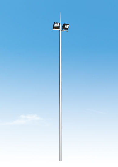 Adjustable Aluminium Street Light Roadway Poles for Commercial Outdoor Lighting pictures & photos