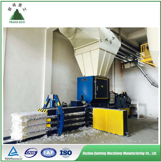 Automatic Paper Baler Press/Baling Machine, Hydraulic Horizontal Auto Tie Baler for Plastic, Cans, Paper, Cardboard, The Best in China