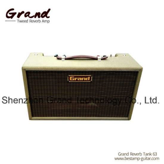 "Grand Vintage Reissue 63"" Tube Reverb Amplifier Head Tank Unit"