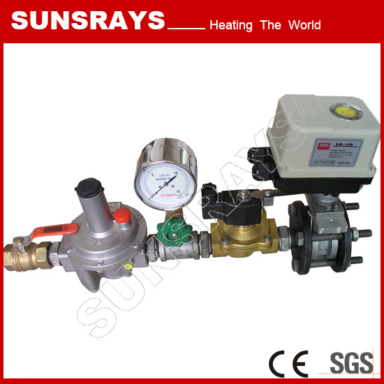 Industrial Heating Gas Supply System