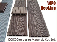 Ocox WPC Outdoor Decking Floor/WPC Board/Composite Decking Floor