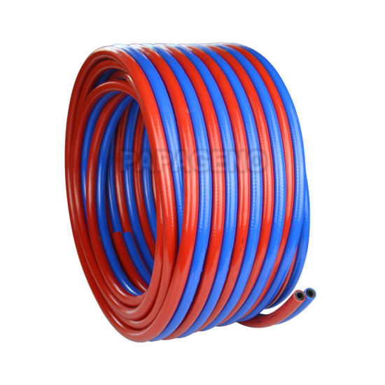 8mm+10mm PVC Twin Welding Oxygen Oxygen and Acetylene Hose pictures & photos