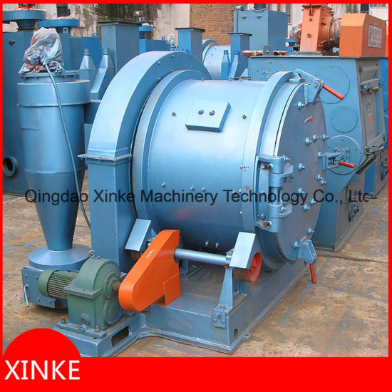 Rolling Drum Type Impeller Shot Blast Equipment Q3110b1 pictures & photos