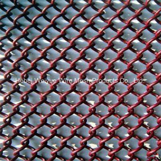 China High Quality Soft Chain Link Mesh Curtain For Fireplace
