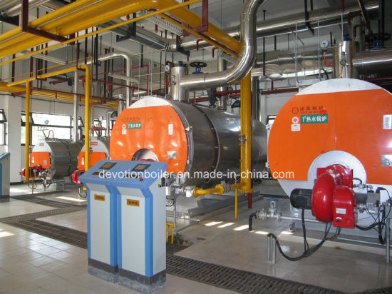 China Gas/Oil/Dual Fuel 14000kw Pressure Hot Water Boiler - China ...