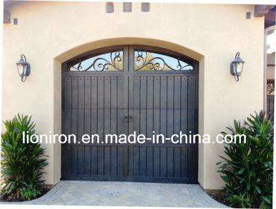 Automatic Iron Door Roll up Metal Garage Door for Private House pictures & photos
