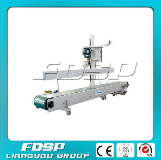China Animal Feed Bagging Scale Bag Sewing Machine With Conveyor Gorgeous Feed Bag Sewing Machine