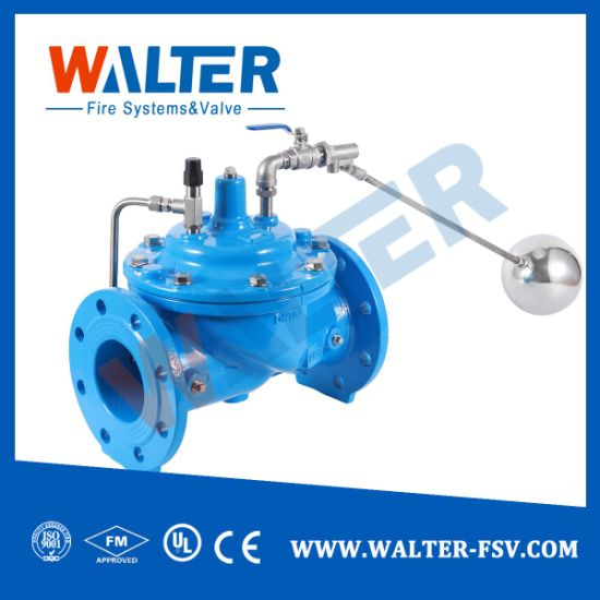 Pipe Fitting Cast Steel Remote Control Float Ball Valve