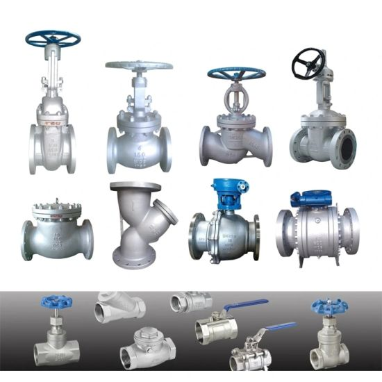 API 600 150lb/300lb Wcb/Stainless Steel Flanged OS&Y Industrial Gate Valve with Other Type Globe/Check