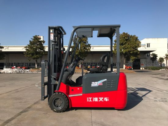 JAC 2t Three Wheels Battery Forklift/Electric Forklift/Forklift Truck/Cpd20SA3