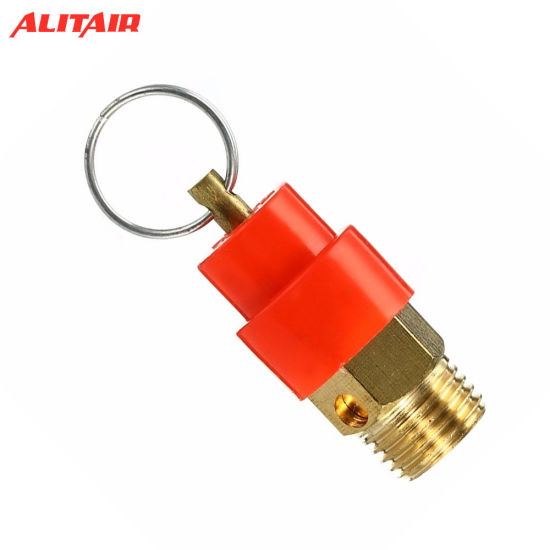 1//4 BSP 120PSI Air Compressor Safety Relief Valve Pressure Release Regulator 9mm Diameter for Pressure Piping//Vessels