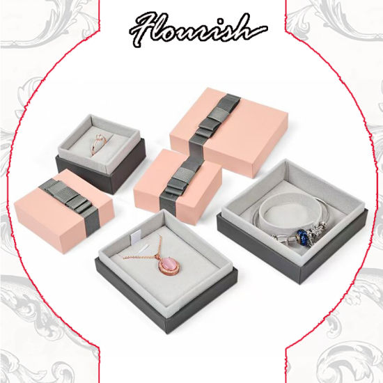 Wholesale Luxury Custom Printed Rigid Foldable Cardboard Jewelry Gift/ Necklace/ Ring/ Bracelet/Watch Packaging Gift Box for Girls