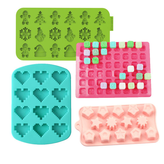 Wholesale Custom Any Flowers Shape Kitchenware Silicone Mould Chocolate Mold Cake Mold for Bakeware