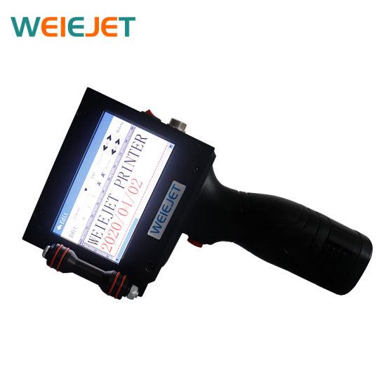 on Sale 25.4mm Handjet Printer Wl2200 Portable Printer Mini Inkjet Printer for Aluminum Box/Can