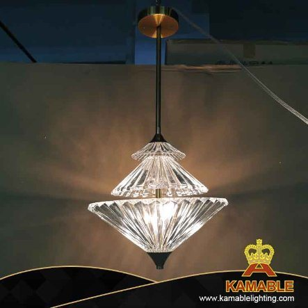 Home Decoration Light Modern Iron Crystal Pendant Lighting (SIT01)