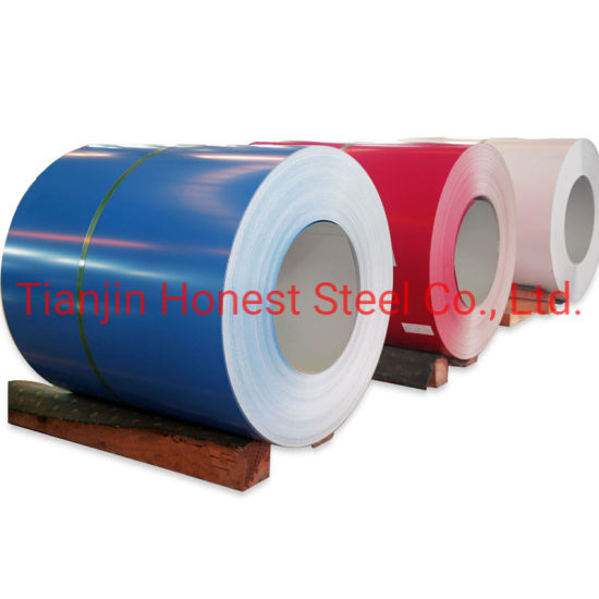 Raw Material PPGI for Processing Galvanized Corrugated Metal Roofing Sheet