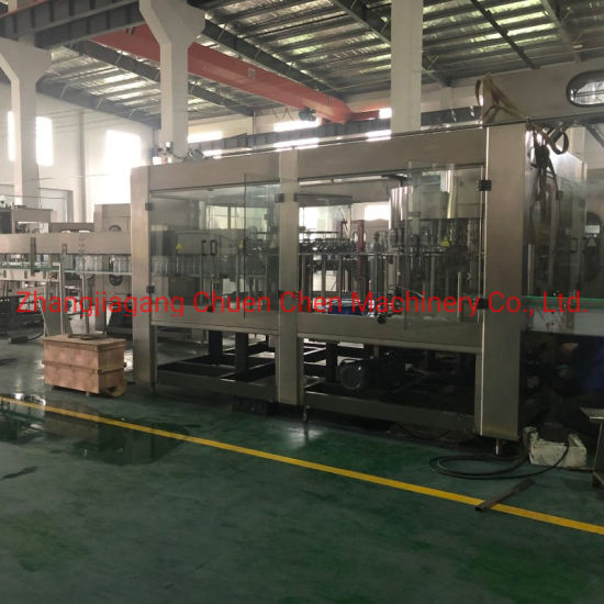 500ml-2000ml Complete Monoblock Aqua Drinking Mineral Pure Water Filler Bottle Filling Capping Machine