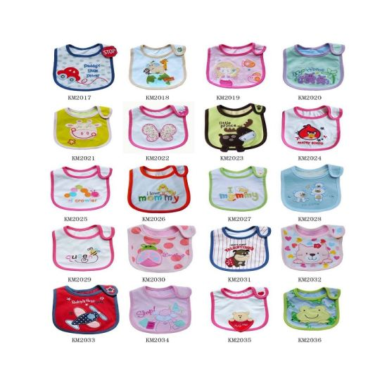 100% Cotton Organic Folding Best Carters Baby Bib pictures & photos