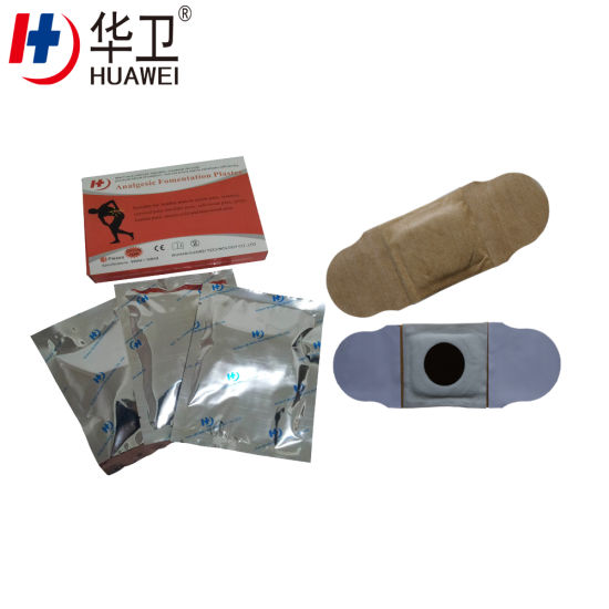 Free Sample Infra Red Analgesic Formentation Plaster for Pain Relief From Chinese Factory