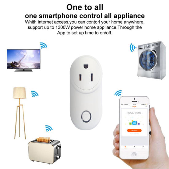 Timethinker Ewelink Home WiFi Smart Socket UK Plug Power Outlet APP Voice  Remote Control Work with Alexa Echo Google Home