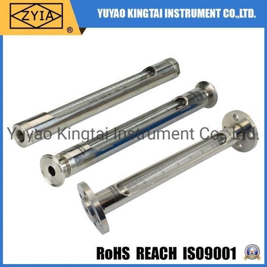 Stainless Steel High Temperature Sight Glass Flowmeter
