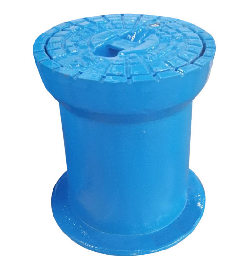 DIN4056 Water Meter Boxes Lids Ductile Iron Surface Box pictures & photos