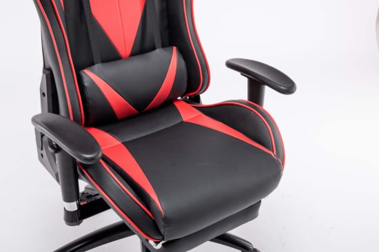 Pleasant Racing Office Pvc Black With Red Gaming Chair Pdpeps Interior Chair Design Pdpepsorg