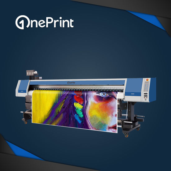 Oneprint Sj-3200 High Performance Eco Solvent Printer with 2 and 4 Epson Dx5 Dx7 XP600 Tx800 Printheads