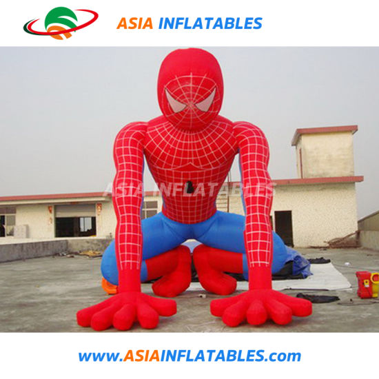 Professional Manufacturer Inflatable Spiderman Model/Hot Sale Inflatable Cartoon pictures & photos