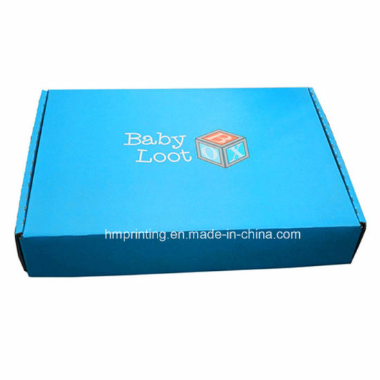 Custom Printing Foldable Mailer Shipping Carton Corrugated Box for Packaging Toys and Medjool Dates pictures & photos