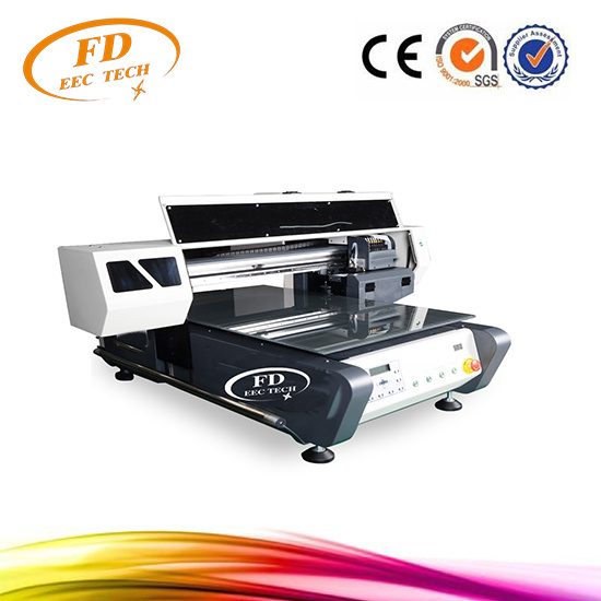 Strong Body Design 3D Small UV Flatbed Printer pictures & photos