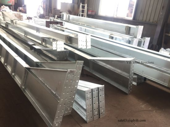 Warehouse Workshop Profile Good Price Galvanized Steel H Beam pictures & photos
