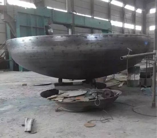 Standard Elliptical Head of Carbon Steel for Boiler and Pressure Vessel Carbon Steel pictures & photos
