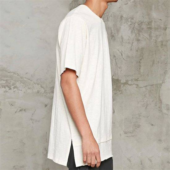 China New York Wholesale Top Tee White Hip Hop Long T-Shirts - China ... 28ea8ee4cb3