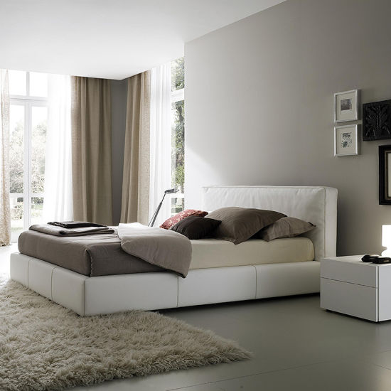Wholesale Modern Bed Room Furniture Leather Bed Bedroom Sets
