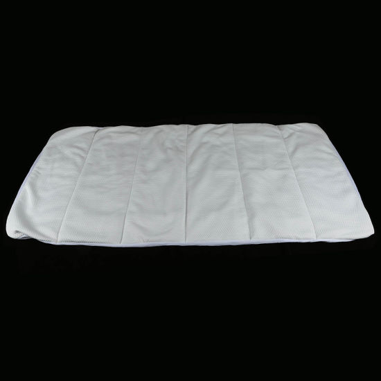 Waterproof Straight Quilted Polyester Mattress Covers / Mattress Protectors Twin Size