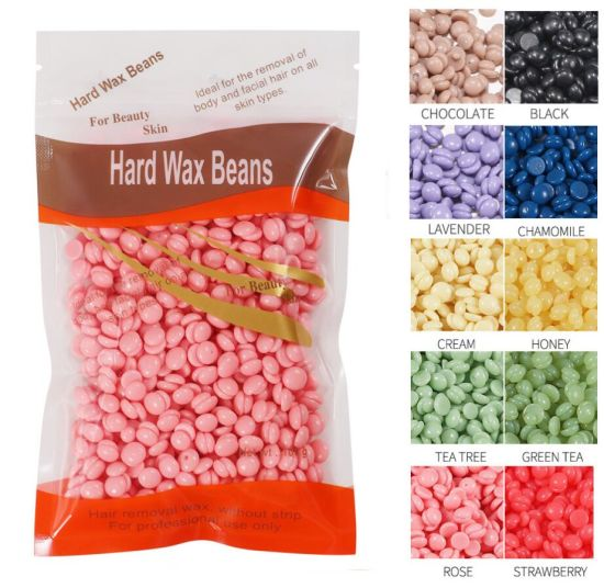 China Hard Wax Beads Without Strip Effective Hair Removal Wax