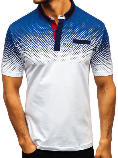 Summer Clothing 3D Printed Short-Sleeved T-Shirt Polo Men's Clothes